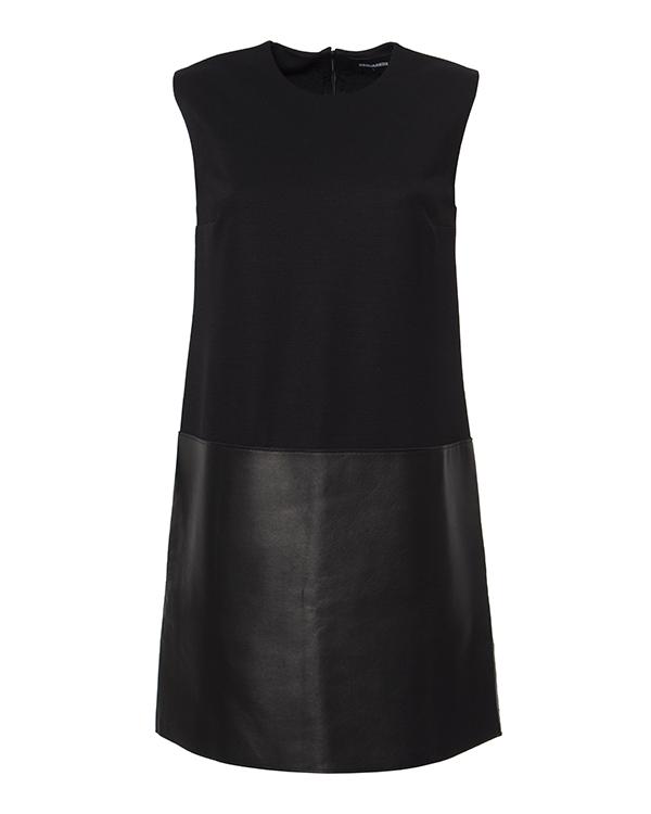 женская платье DSQUARED, сезон: зима 2014/15. Купить за 33200 руб. | Фото 1