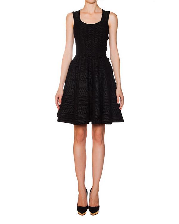 платье расклешенного кроя с фактурным узором артикул S75CU0119 марки DSQUARED2 купить за 39500 руб.