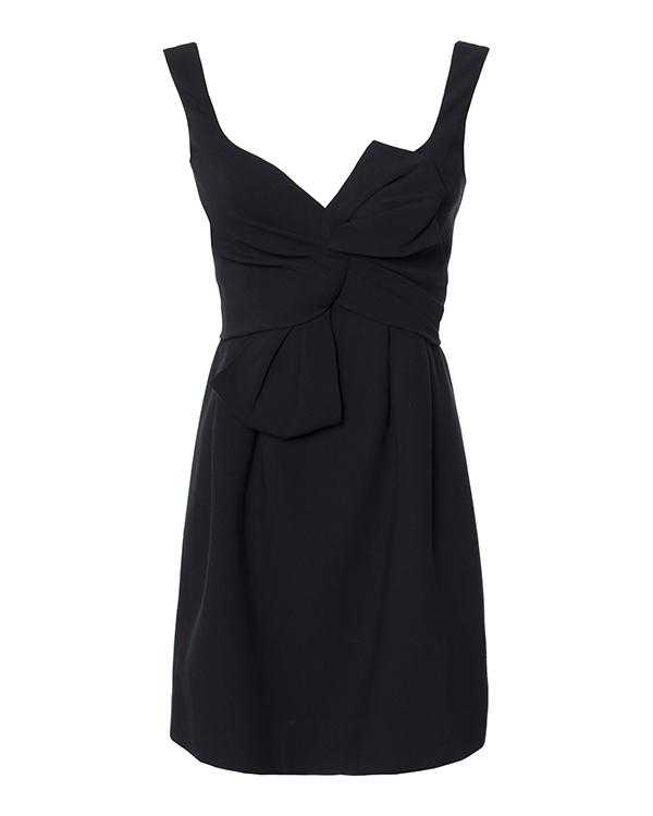 платье из вискозы с добавлением шерсти артикул S75CU0551 марки DSQUARED2 купить за 83600 руб.