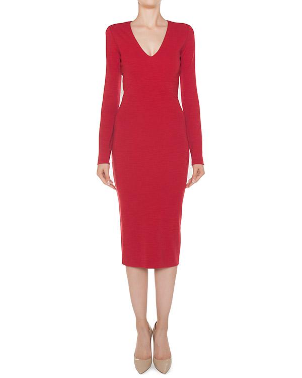 платье из трикотажной шерсти артикул S75CU0602 марки DSQUARED2 купить за 51300 руб.