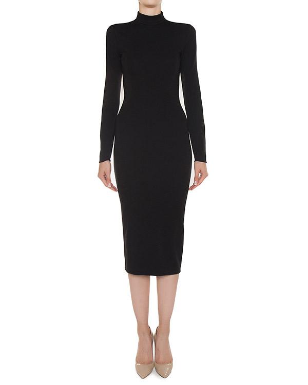 платье миди из трикотажной шерсти  артикул S75CU0603 марки DSQUARED2 купить за 51300 руб.