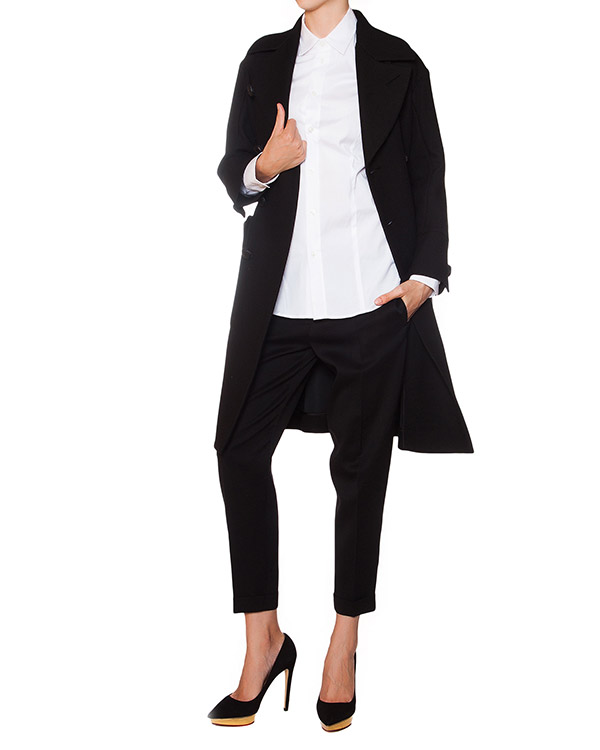 женская рубашка DSQUARED, сезон: зима 2015/16. Купить за 7300 руб. | Фото 3