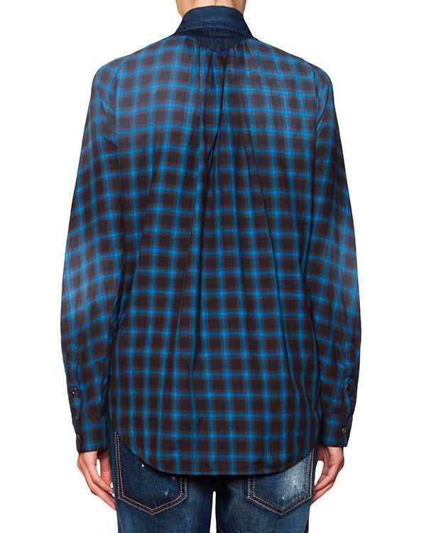 женская рубашка DSQUARED, сезон: зима 2015/16. Купить за 31700 руб. | Фото 2