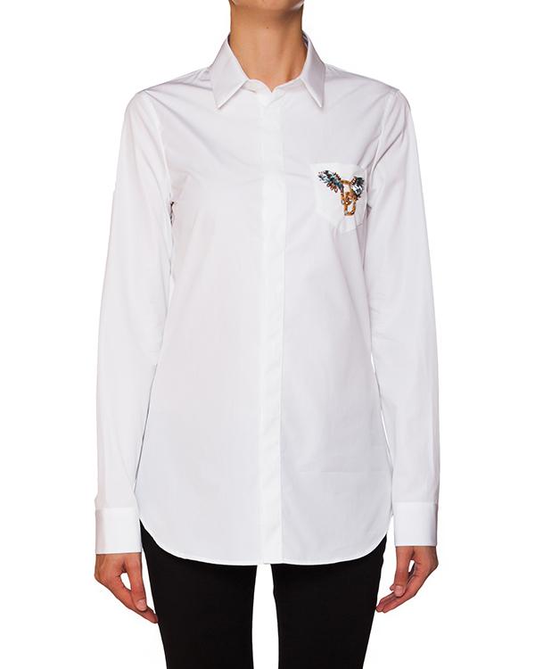 женская рубашка DSQUARED, сезон: зима 2015/16. Купить за 16900 руб. | Фото 1