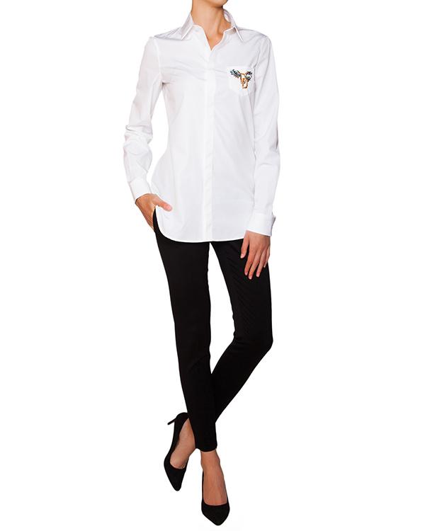 женская рубашка DSQUARED, сезон: зима 2015/16. Купить за 16900 руб. | Фото 3