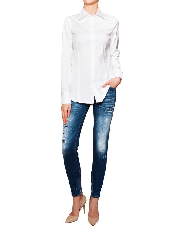 женская рубашка DSQUARED, сезон: лето 2016. Купить за 9400 руб. | Фото 3