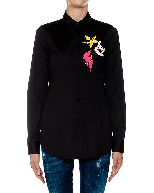 женская рубашка DSQUARED, сезон: зима 2016/17. Купить за 16000 руб. | Фото 1