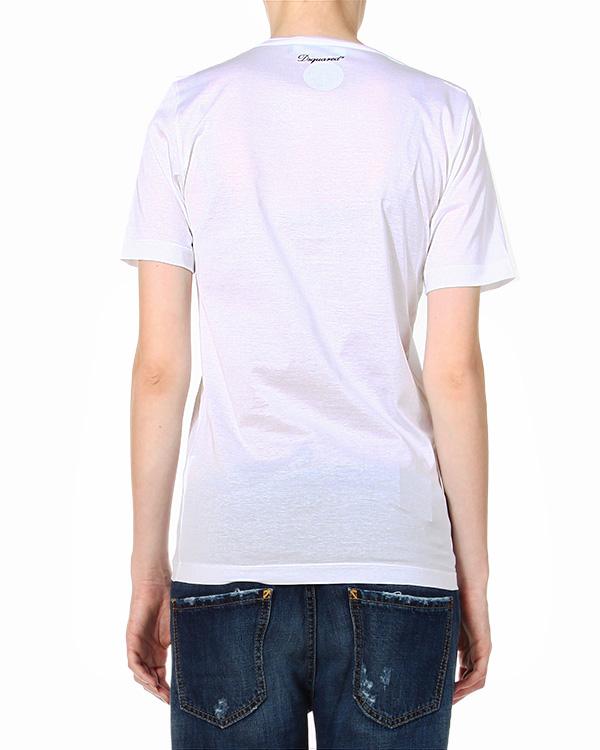 женская футболка DSQUARED, сезон: зима 2014/15. Купить за 8600 руб. | Фото 2