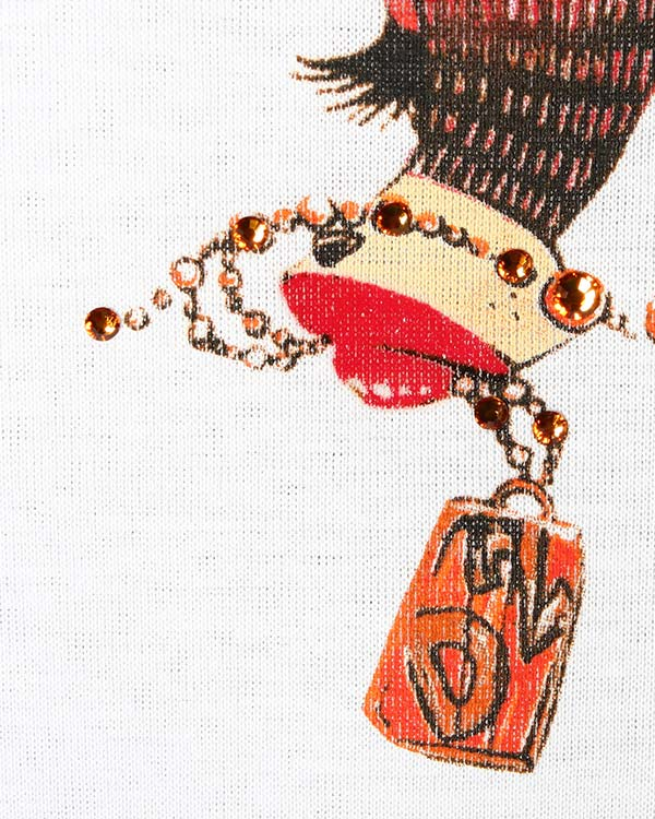 женская футболка DSQUARED, сезон: зима 2014/15. Купить за 8600 руб. | Фото 4