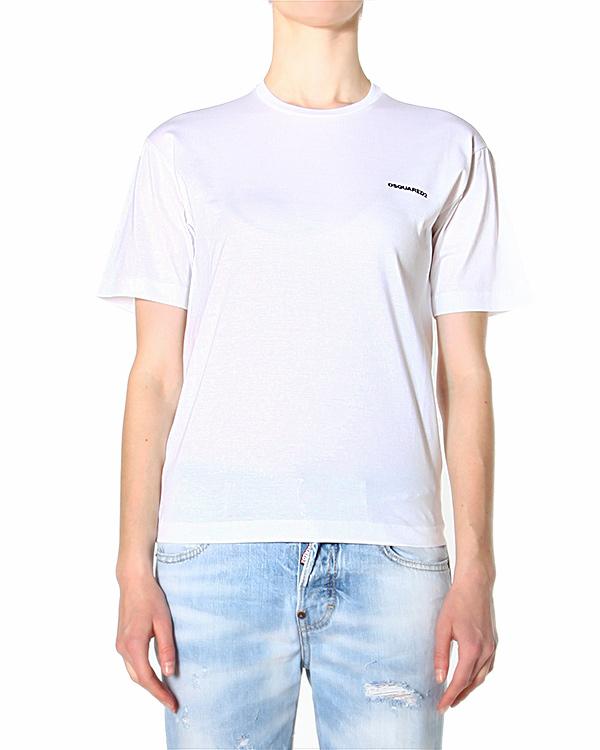 женская футболка DSQUARED, сезон: лето 2015. Купить за 5500 руб. | Фото 1