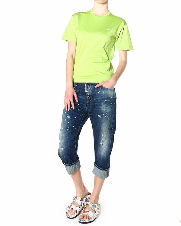 женская футболка DSQUARED, сезон: лето 2015. Купить за 5500 руб. | Фото 3