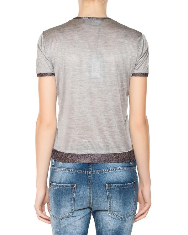 женская футболка DSQUARED, сезон: лето 2015. Купить за 16500 руб. | Фото 2