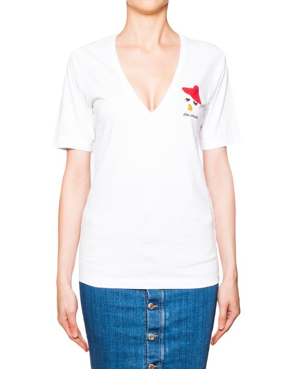 женская футболка DSQUARED, сезон: лето 2016. Купить за 5300 руб. | Фото 1