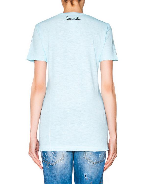 женская футболка DSQUARED, сезон: лето 2016. Купить за 9700 руб. | Фото 2