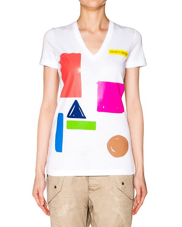 женская футболка DSQUARED, сезон: лето 2016. Купить за 6700 руб. | Фото 1