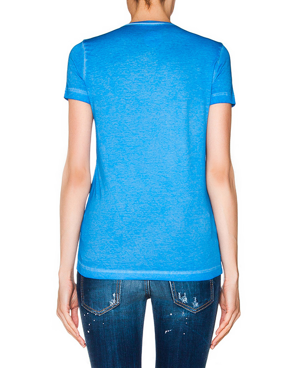 женская футболка DSQUARED, сезон: лето 2016. Купить за 7300 руб. | Фото 2