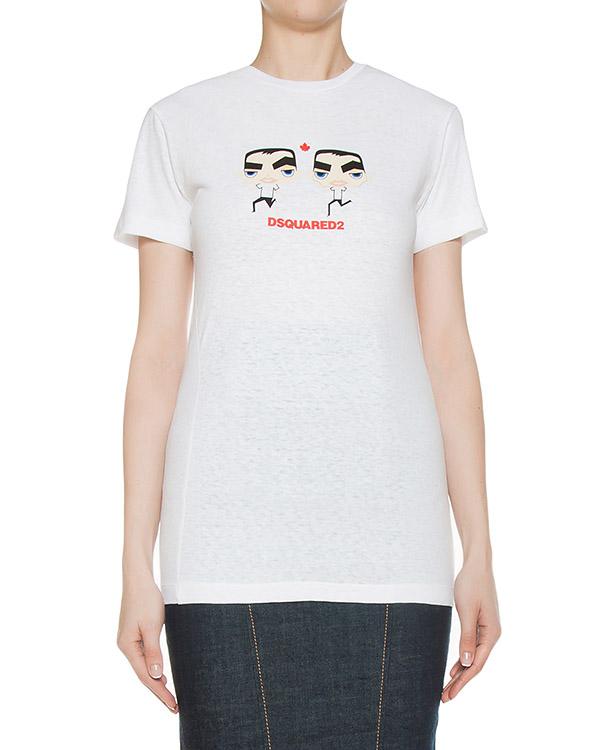 футболка  артикул S75GC0856 марки DSQUARED2 купить за 5200 руб.