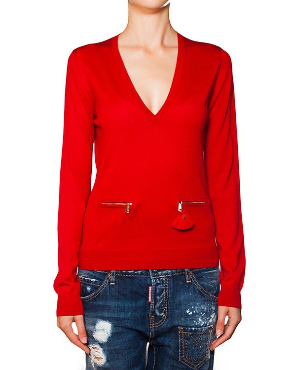 женская пуловер DSQUARED, сезон: зима 2015/16. Купить за 11900 руб. | Фото 1