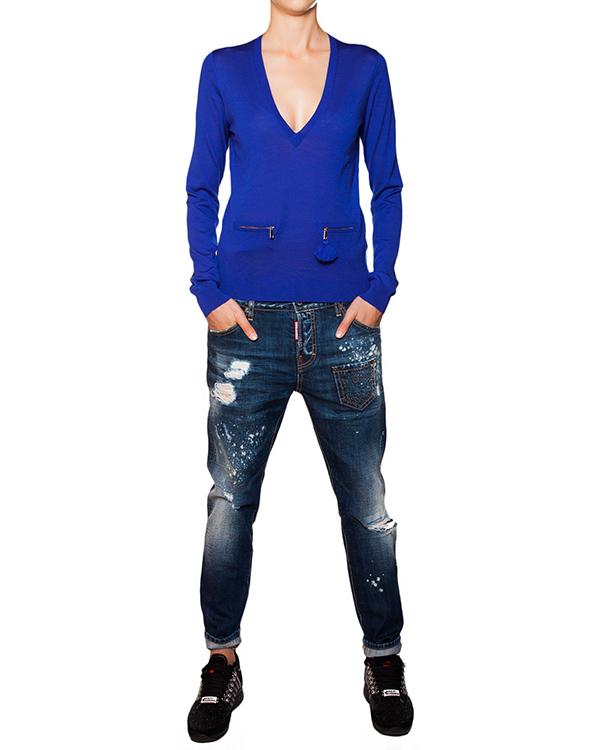 женская пуловер DSQUARED, сезон: зима 2015/16. Купить за 11900 руб. | Фото 3