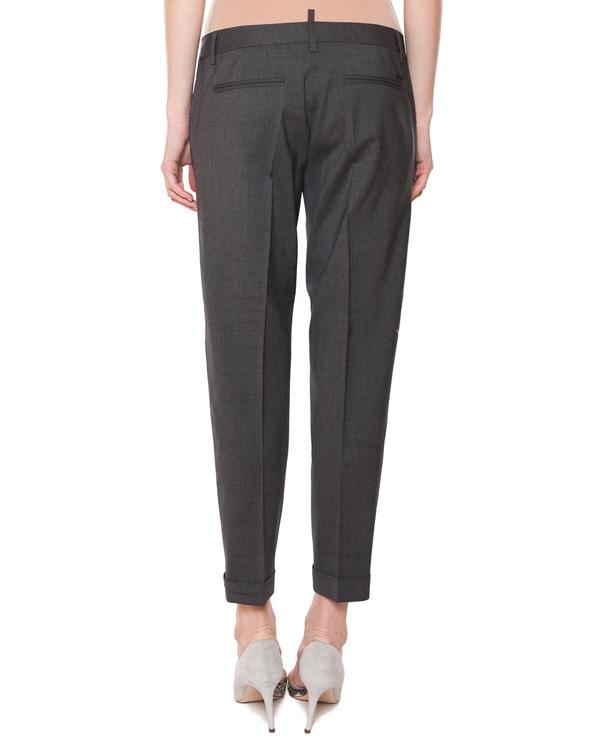 женская брюки DSQUARED, сезон: лето 2015. Купить за 15400 руб. | Фото 2