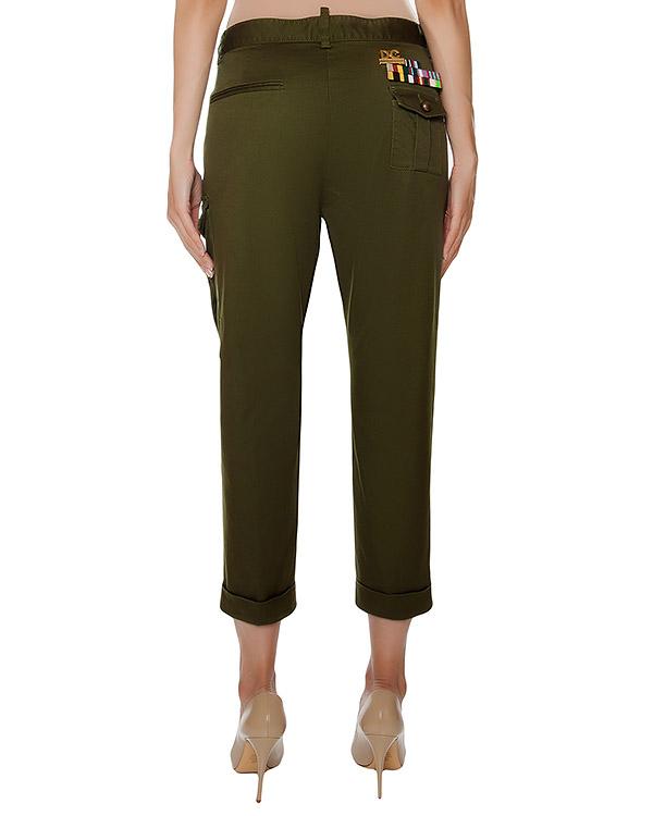 женская брюки DSQUARED, сезон: зима 2016/17. Купить за 24200 руб. | Фото 2
