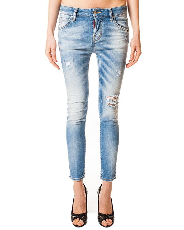 женская джинсы DSQUARED, сезон: лето 2014. Купить за 9700 руб. | Фото $i
