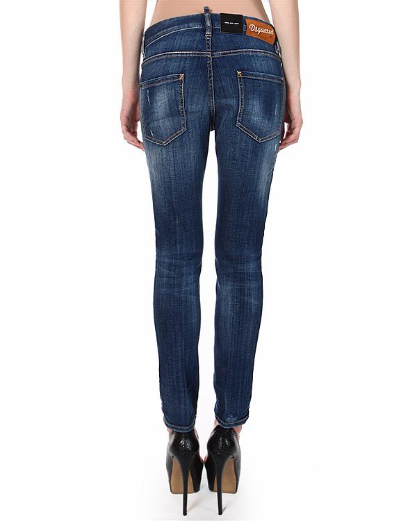 женская джинсы DSQUARED, сезон: зима 2014/15. Купить за 14500 руб. | Фото $i