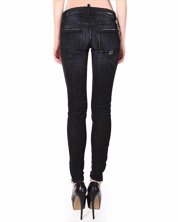 женская джинсы DSQUARED, сезон: зима 2014/15. Купить за 17200 руб. | Фото 2