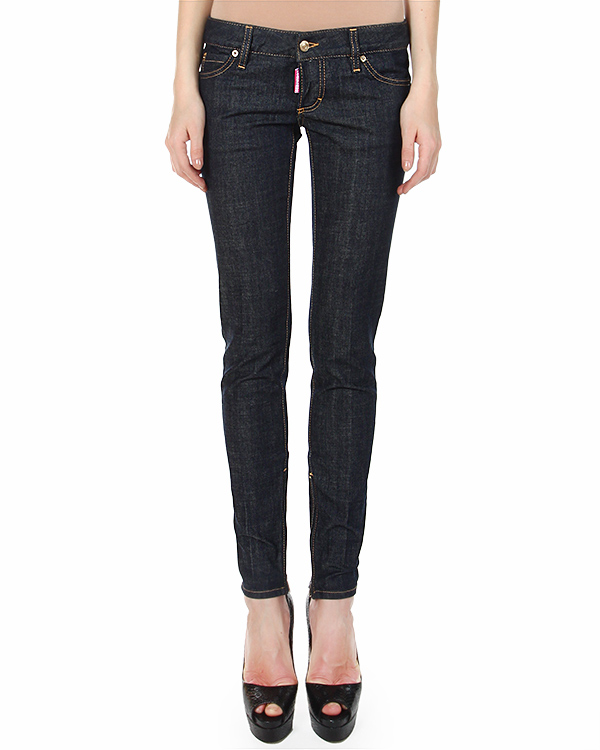женская джинсы DSQUARED, сезон: зима 2014/15. Купить за 15000 руб. | Фото 1