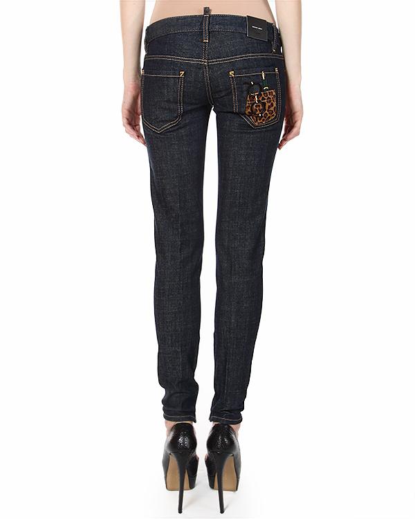 женская джинсы DSQUARED, сезон: зима 2014/15. Купить за 15000 руб. | Фото 2
