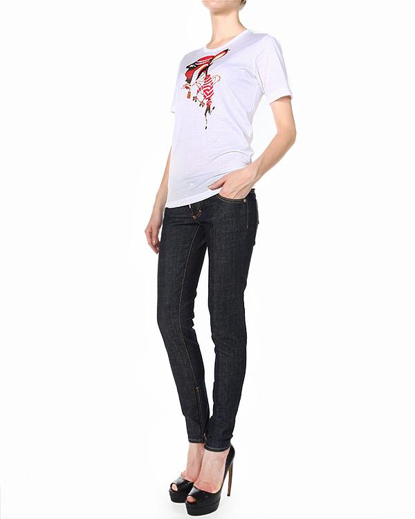 женская джинсы DSQUARED, сезон: зима 2014/15. Купить за 15000 руб. | Фото 3