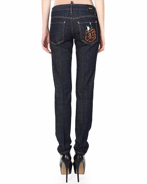 женская джинсы DSQUARED, сезон: зима 2014/15. Купить за 13900 руб. | Фото 2