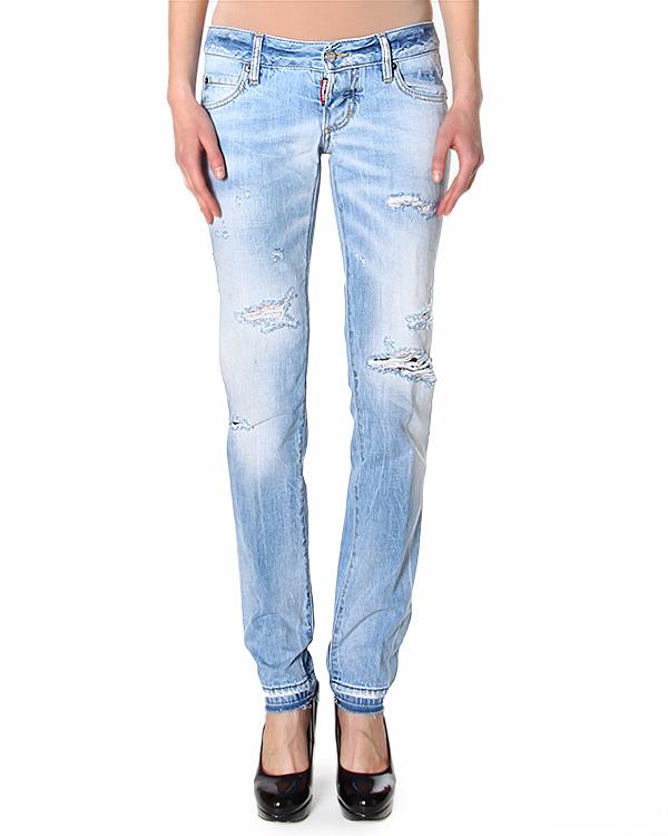 женская джинсы DSQUARED, сезон: лето 2015. Купить за 15400 руб. | Фото 1