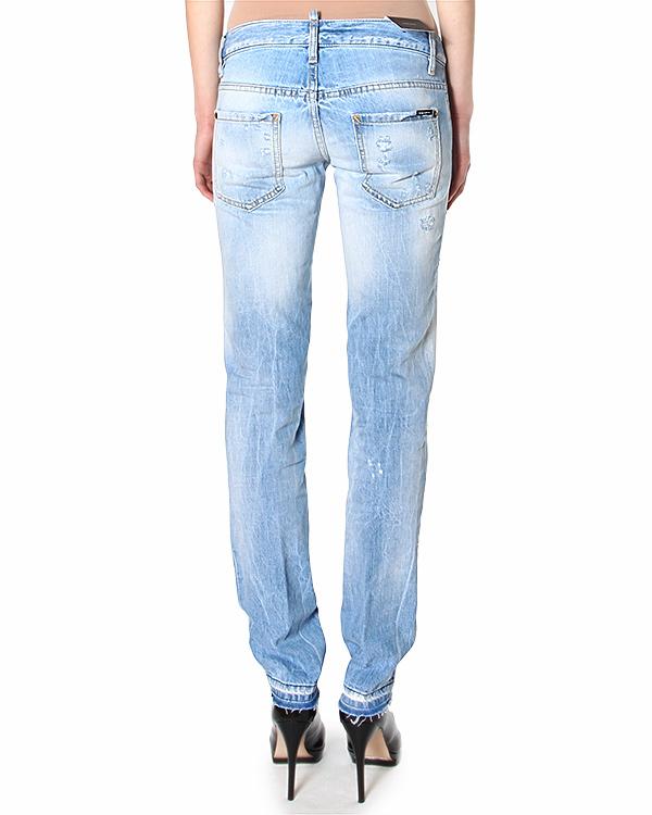 женская джинсы DSQUARED, сезон: лето 2015. Купить за 15400 руб. | Фото 2
