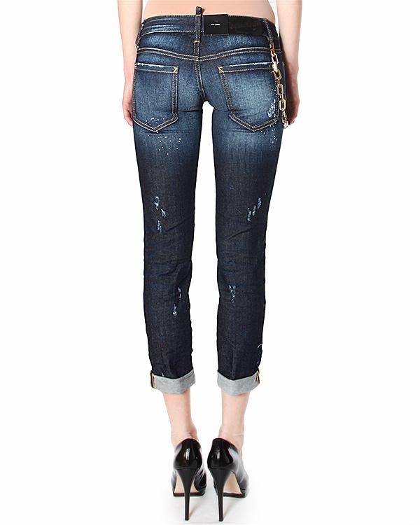 женская джинсы DSQUARED, сезон: лето 2015. Купить за 19800 руб. | Фото 2