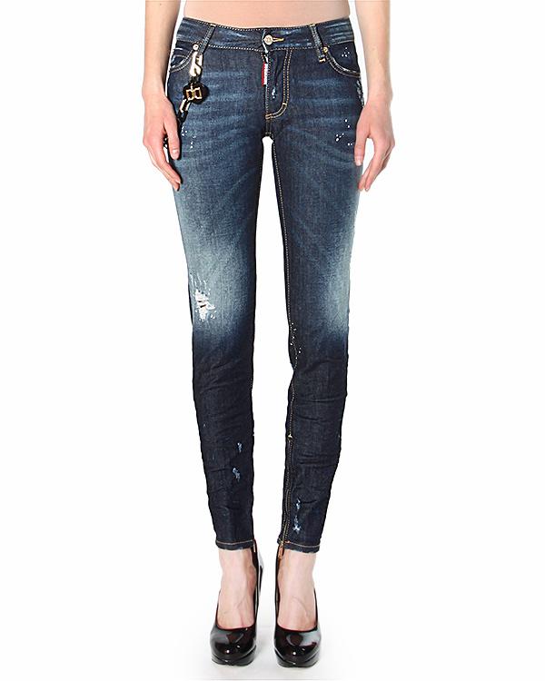 женская джинсы DSQUARED, сезон: лето 2015. Купить за 20900 руб. | Фото 1