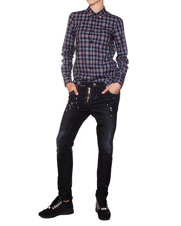 женская джинсы DSQUARED, сезон: зима 2015/16. Купить за 15400 руб. | Фото $i