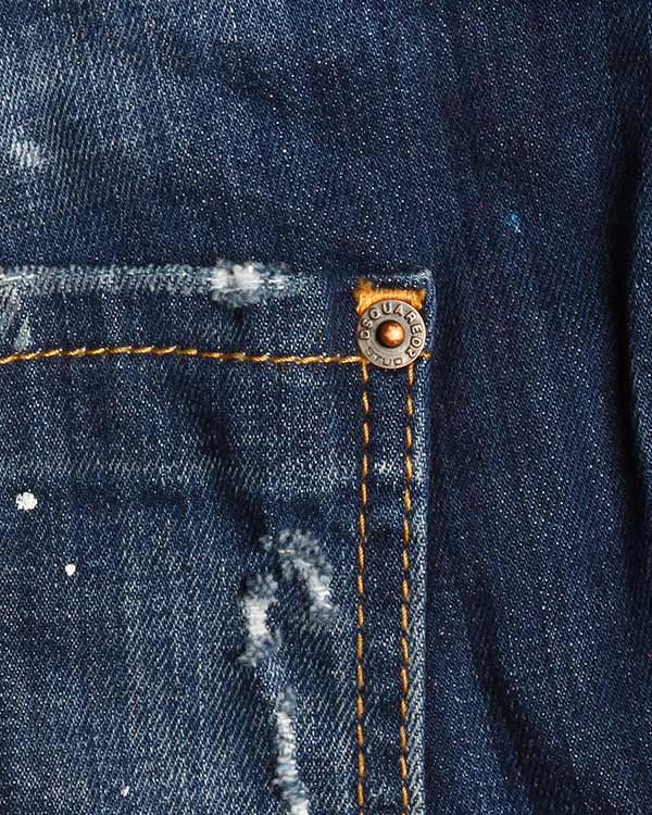 женская джинсы DSQUARED, сезон: лето 2016. Купить за 22800 руб. | Фото 4