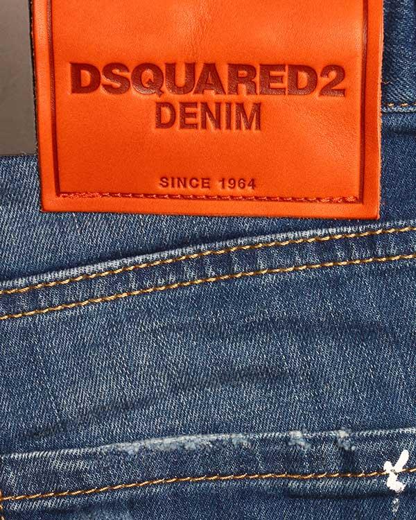 женская джинсы DSQUARED, сезон: лето 2016. Купить за 21300 руб. | Фото 4
