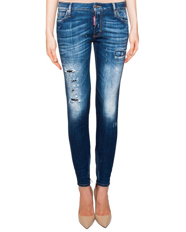 женская джинсы DSQUARED, сезон: лето 2016. Купить за 22800 руб. | Фото 1