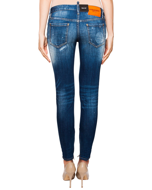 женская джинсы DSQUARED, сезон: лето 2016. Купить за 22800 руб. | Фото 2