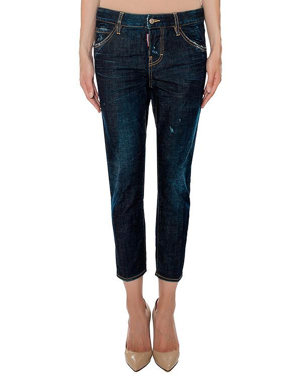 женская джинсы DSQUARED, сезон: зима 2016/17. Купить за 18500 руб. | Фото 1