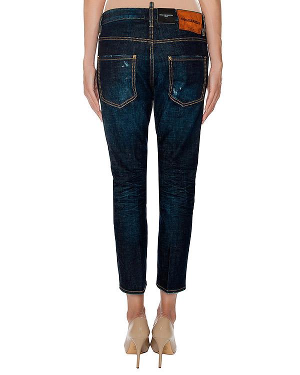 женская джинсы DSQUARED, сезон: зима 2016/17. Купить за 18500 руб. | Фото 2