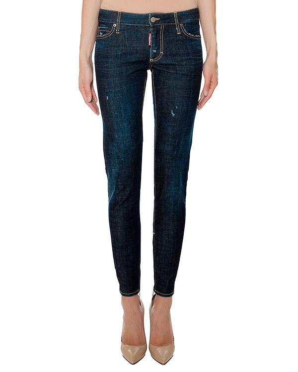 женская джинсы DSQUARED, сезон: зима 2016/17. Купить за 20000 руб. | Фото 1