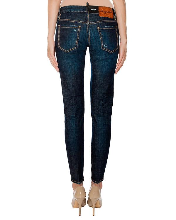 женская джинсы DSQUARED, сезон: зима 2016/17. Купить за 20000 руб. | Фото 2