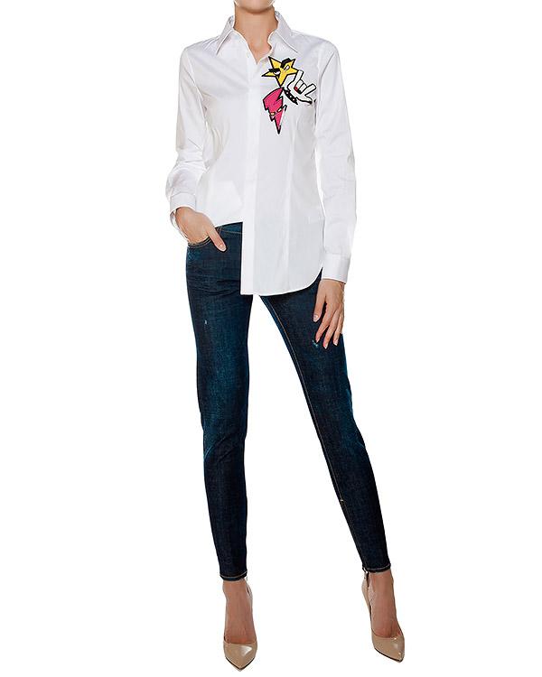 женская джинсы DSQUARED, сезон: зима 2016/17. Купить за 20000 руб. | Фото 3
