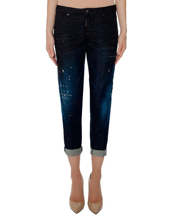 женская джинсы DSQUARED, сезон: зима 2016/17. Купить за 27000 руб. | Фото 1