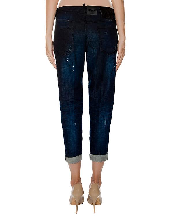 женская джинсы DSQUARED, сезон: зима 2016/17. Купить за 27000 руб. | Фото 2