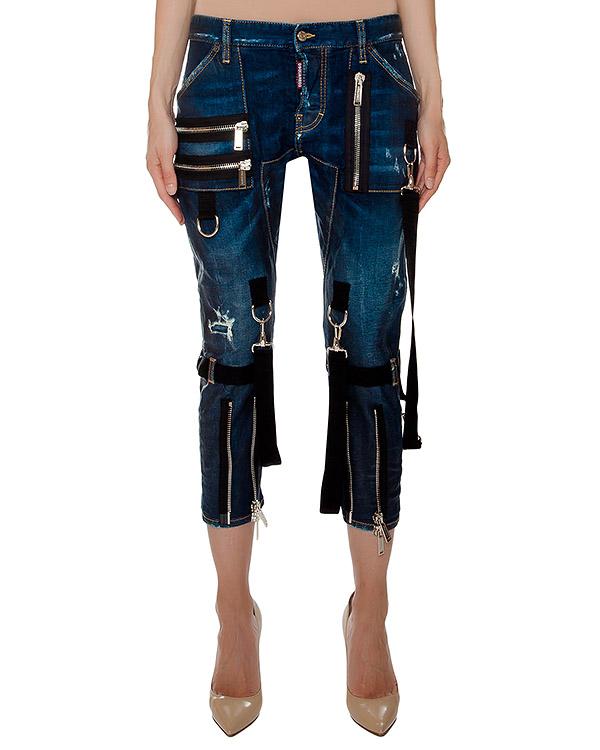 женская джинсы DSQUARED, сезон: зима 2016/17. Купить за 57000 руб. | Фото 1