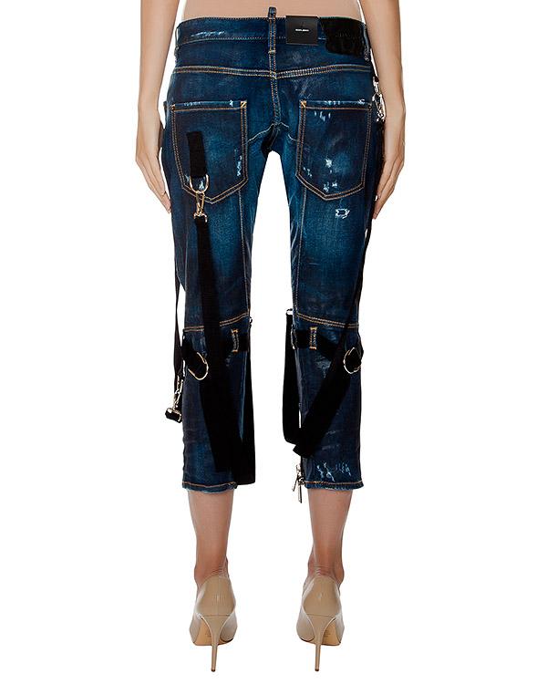 женская джинсы DSQUARED, сезон: зима 2016/17. Купить за 57000 руб. | Фото 2
